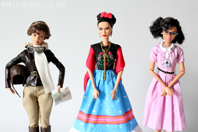 Here are three reasons why I let my daughter play with Barbies why I think every girl should have a Barbie doll to inspire her!