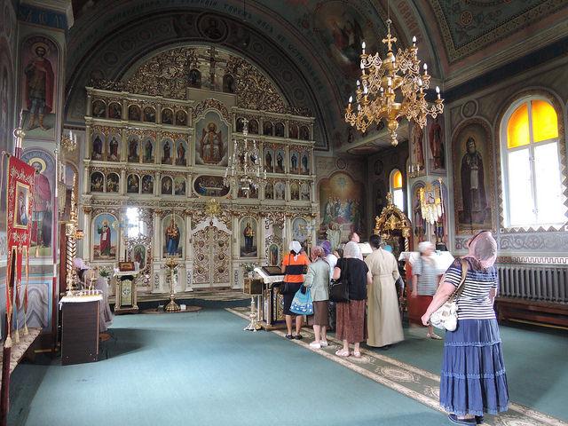 Свято-Успенский женский монастырь в с. Угля. Закарпатье. Украина