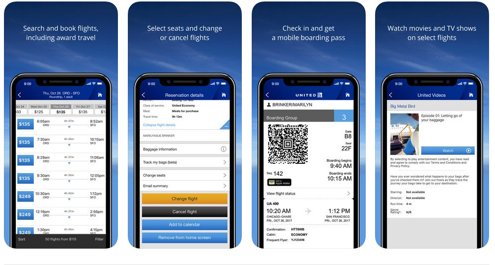 United_Airlines App_Store
