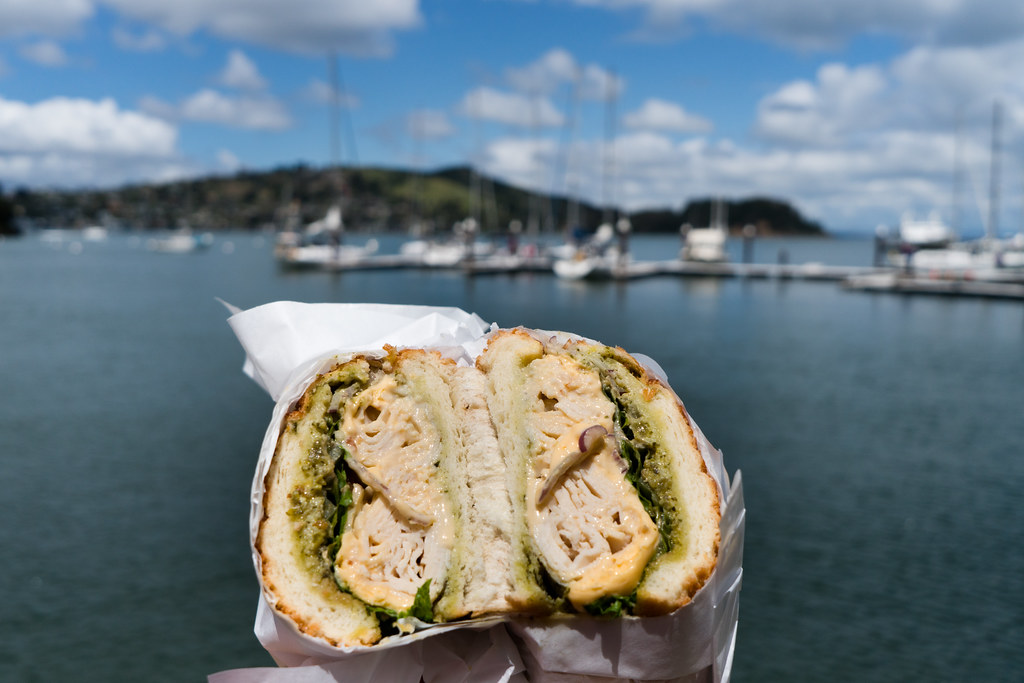 Lunch from Lou's sandwich