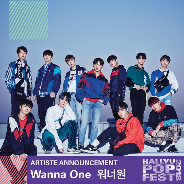 HallyuPopFest 2018 - WANNA ONE