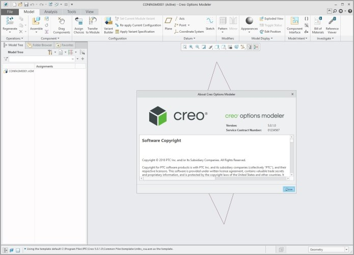 Working with PTC Creo Options modeler 5.0.1.0 full crack