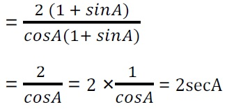 NCERT Solutions for Class 10 Maths Chapter 8 Introduction to Trigonometry (Hindi Medium) 8.1 37