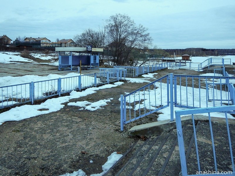 Старая пристань, Михалёво