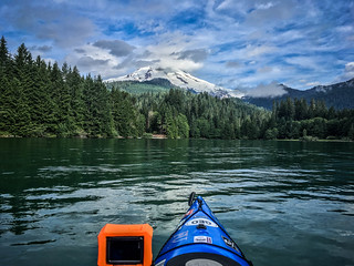 Kayaking on Baker Lake-46
