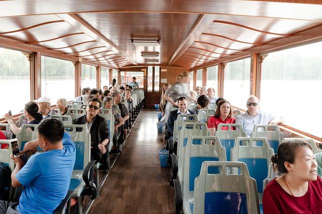 Boat on Kunming Lake in Summer Palace