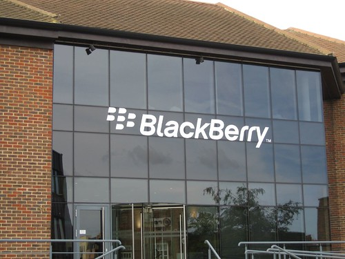 Blackberry, Egham UK