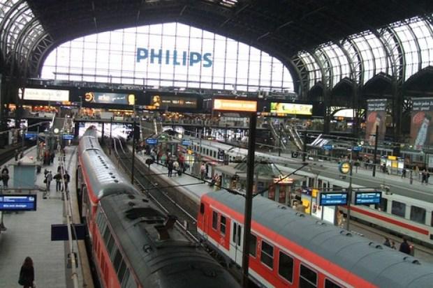Hamburg's Hauptbahnhof