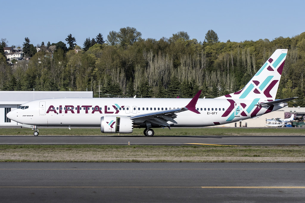 Air Italy Boeing 737-8 Max EI-GFY