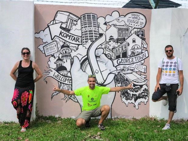 Murales en Georgetown