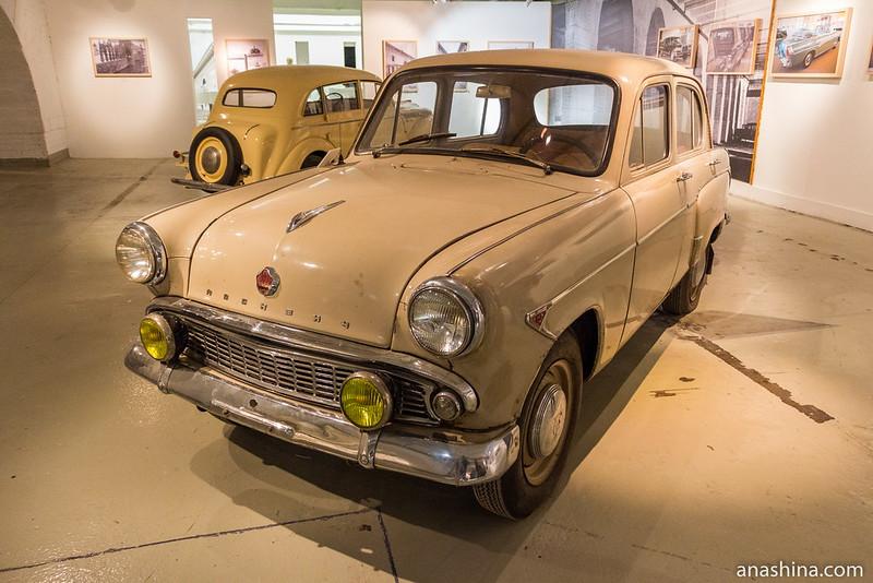 Москвич-403, Музей Москвы