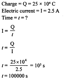 A New Approach to ICSE Physics Part 1 Class 9 Solutions Electricity and Magnetism - 1 13.1