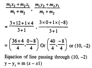 Selina Concise Mathematics Class 10 ICSE Solutions Chapter 14 Equation of a Line Ex 14C 21