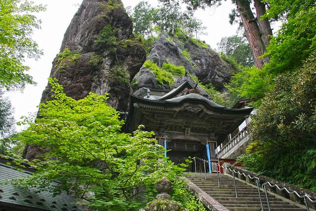 Haruna Jinja Shrine, 'Soryumon' Twin Dragons Gate (Gunma, Japan)