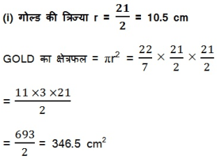 NCERT Solutions For Class 10 Maths Areas Related to Circles PDF 1