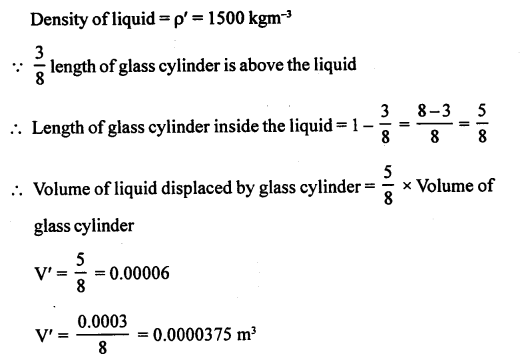 A New Approach to ICSE Physics Part 1 Class 9 Solutions Archimedes' Principle..003