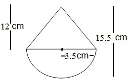 NCERT Maths Solutions For Class 10 Surface Areas and Volumes 13.1 3