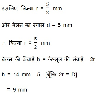 Solutions For Maths NCERT Class 10 Hindi Medium Surface Areas and Volumes 13.1 12