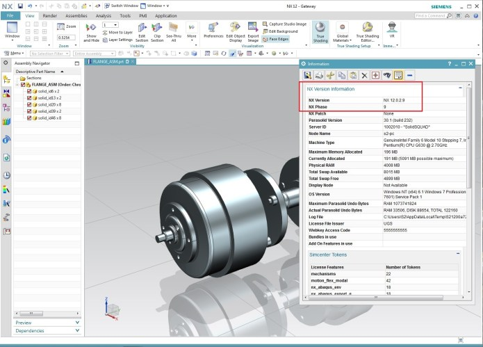 Working with Siemens PLM NX 12.0.2 (NX 12.0 MR2) Win64 full