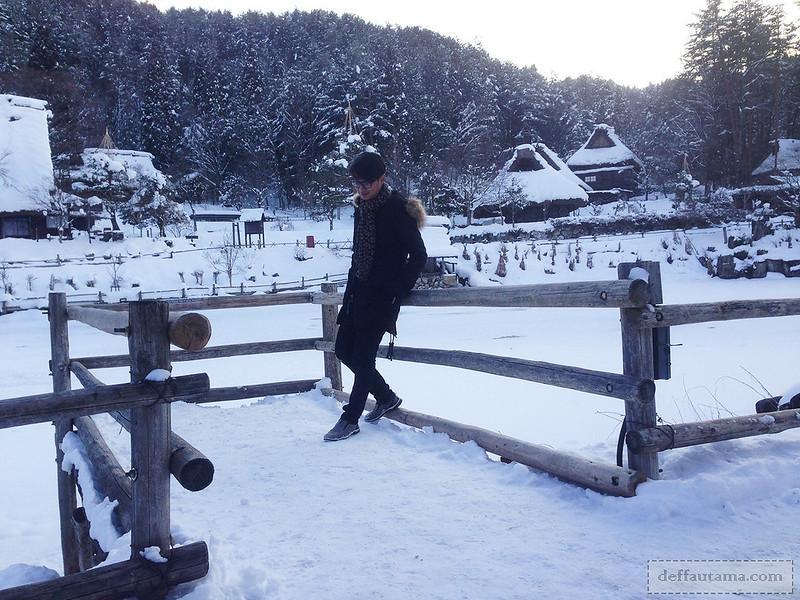 Babymoon ke Jepang - Goami Pond Photospot 2