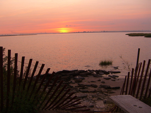 Jamaica Bay NWR: Terrapin Trail, sunset