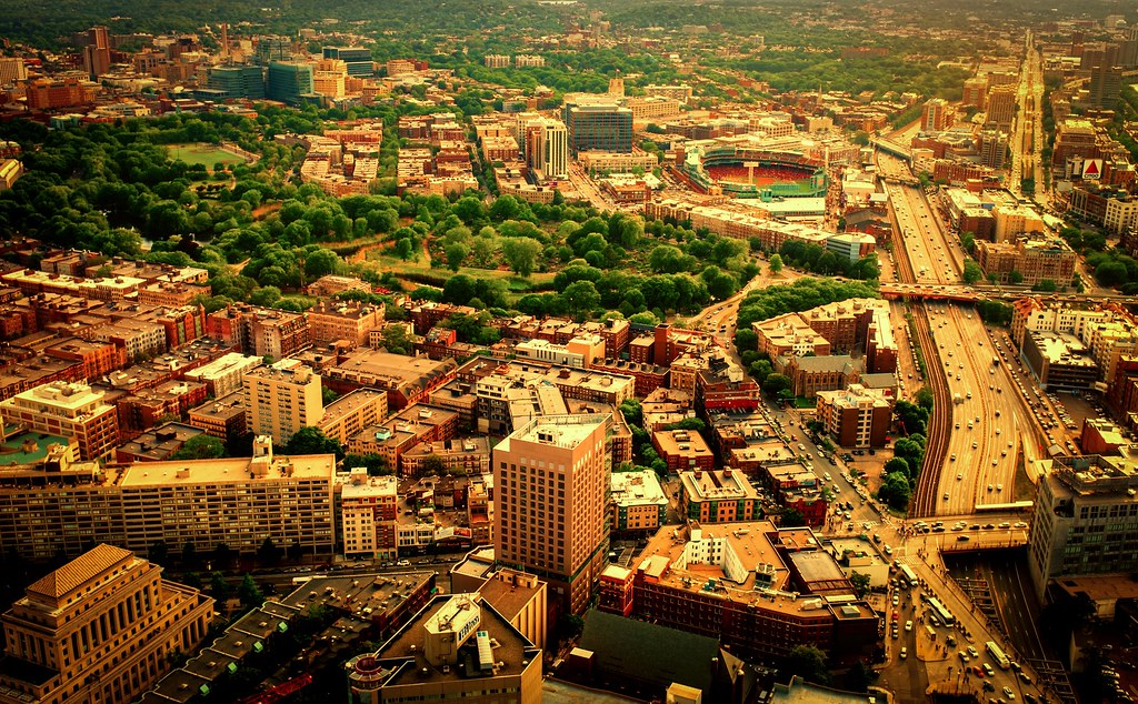 fenway from above