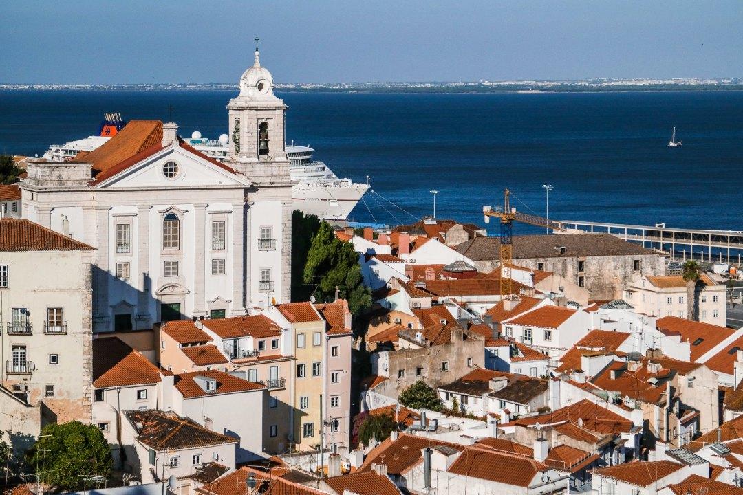 Miradouro das Portas de Sol, Lisbona
