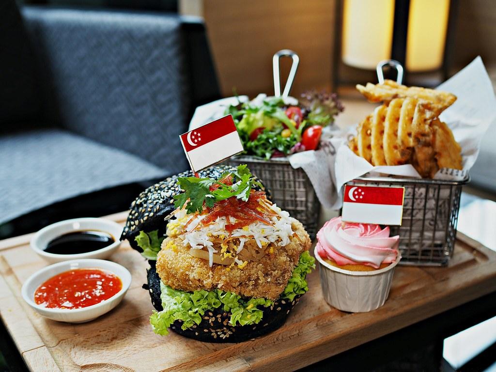 Popiah Burger
