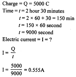 A New Approach to ICSE Physics Part 1 Class 9 Solutions Electricity and Magnetism - 1 12