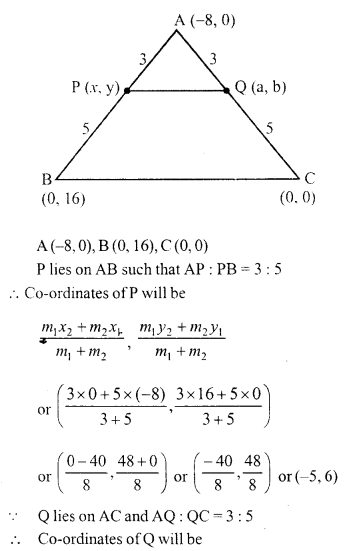 Selina Concise Mathematics Class 10 ICSE Solutions Chapter 13 Section and Mid-Point Formula Ex 13C 3