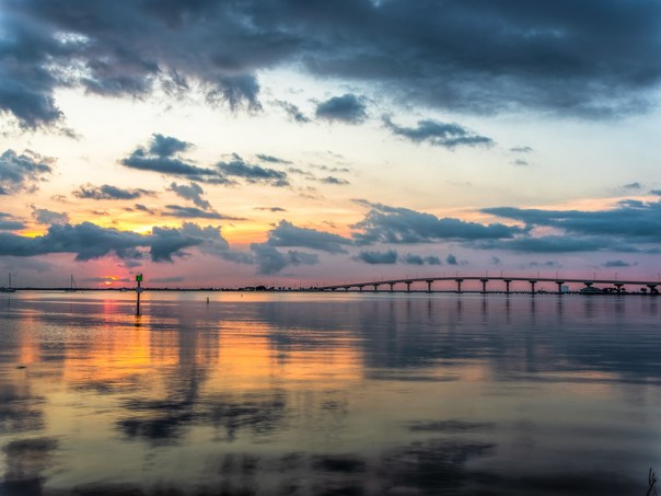 Dawn on the Indian River