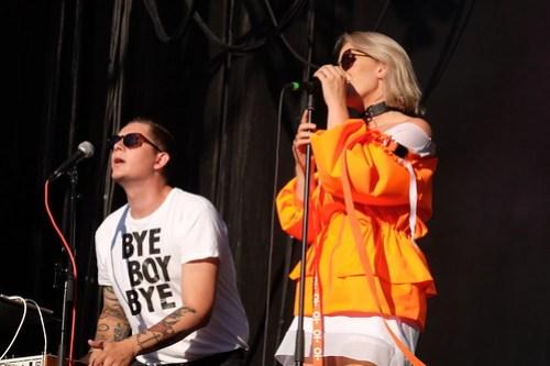 Kenny Lundström och Eleonor Léone