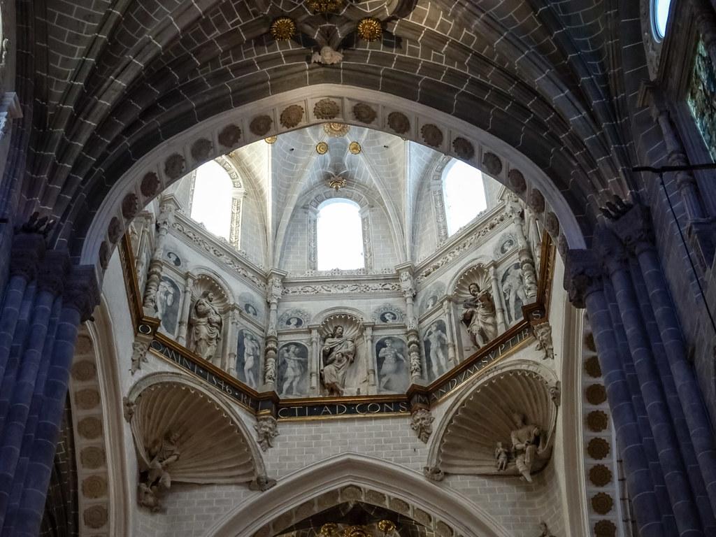 Cimborrio interior Catedral de Nuestra Señora de la Huerta de Tarazona Zaragoza 01