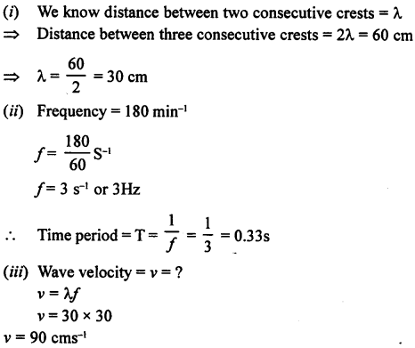 A New Approach to ICSE Physics Part 1 Class 9 Solutions Sound 13.1