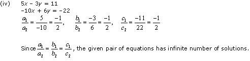 NCERT Solutions for Class 10 Maths Chapter 3 Pair of Linear Equations in Two Variables 23
