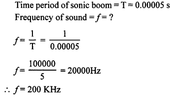 A New Approach to ICSE Physics Part 1 Class 9 Solutions Sound 8.2