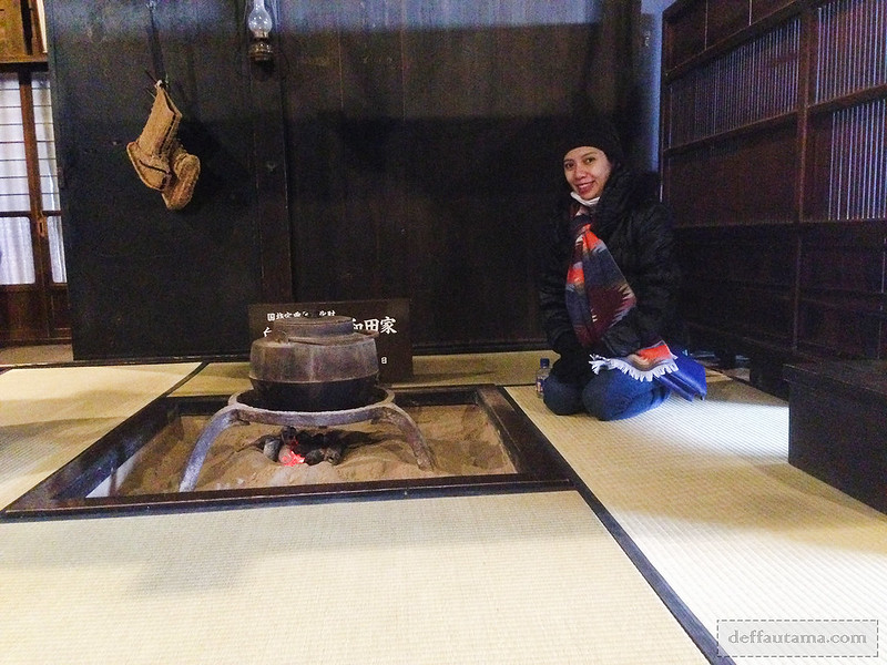 Babymoon ke Jepang - Fireplace