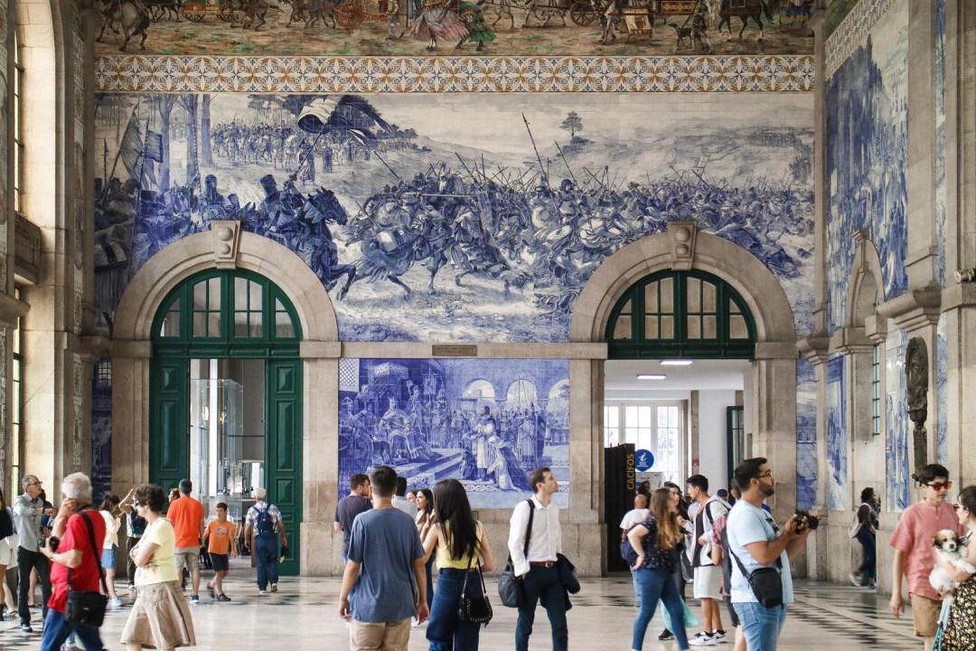Stazione di Sao Bento, Porto