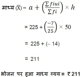 NCERT Book Solutions For Class 10 Maths Hindi Medium Statistics 14.1 17