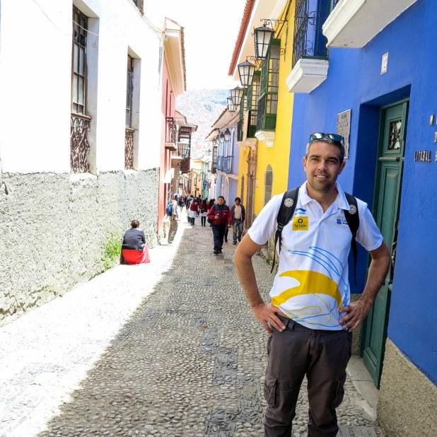 Calle Jaén en La Paz
