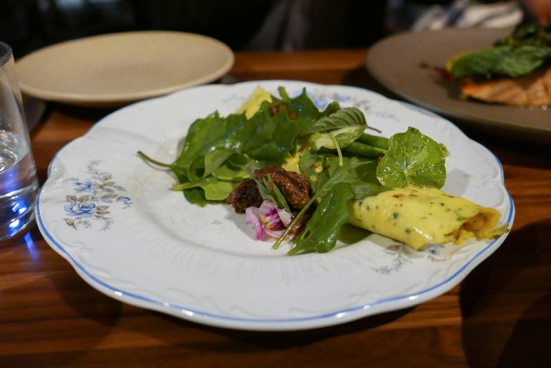 Omelette, Camembert, Marinated Morels $14