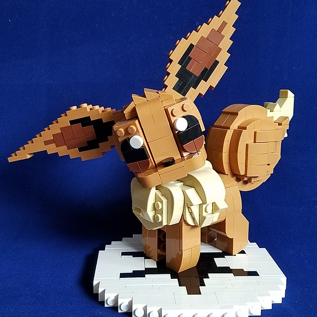 LEGO Pokemon Evoli eevee