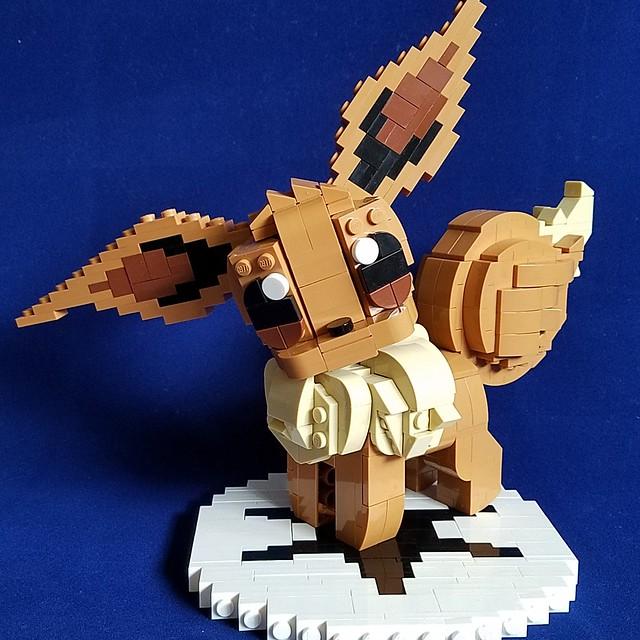 LEGO Pokemon Evoli eevee