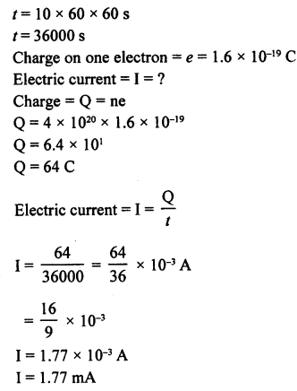 A New Approach to ICSE Physics Part 1 Class 9 Solutions Electricity and Magnetism - 1 15