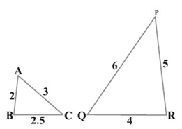 ncert solutions for class 10 maths chapter 6 Ex 6.3 in Hindi Medium