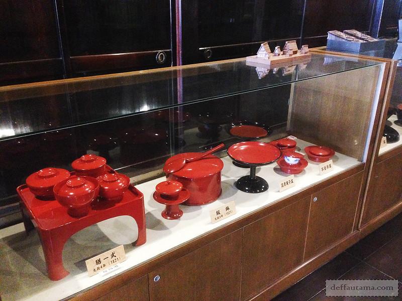 Babymoon ke Jepang - Peralatan Makan