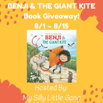 Benji and The Giant Kite Book Giveaway