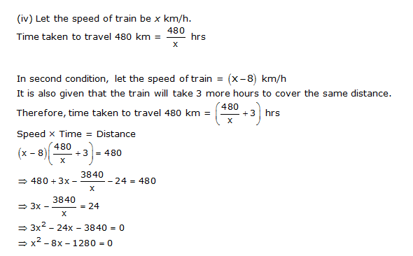 NCERT Solutions for Class 10 Maths Chapter 4 Quadratic Equations 4
