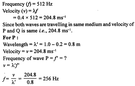 A New Approach to ICSE Physics Part 1 Class 9 Solutions Sound 16.1