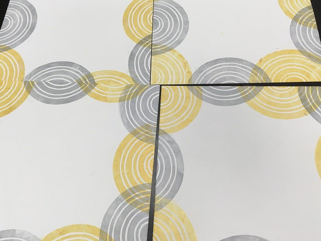 Lino print collaboration